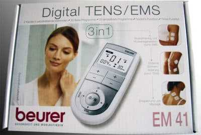 Máy điện châm 2 kênh và 4 điện cực Beurer EM41