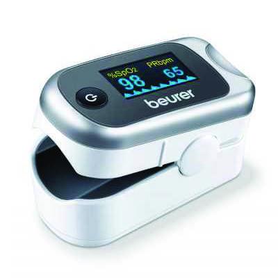 Máy-đo-nồng-độ-oxy-trong-máu-và-nhịp-tim-beurer-PO40