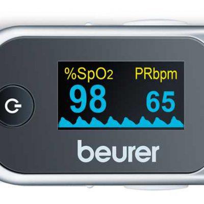 Máy đo nồng độ oxy trong máu Beurer PO40